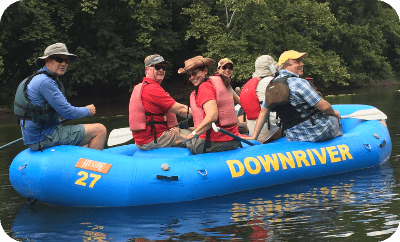 2017 Partners Raft Trip by Chris Anderson